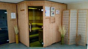 Sauna mit Farblichtstimulation