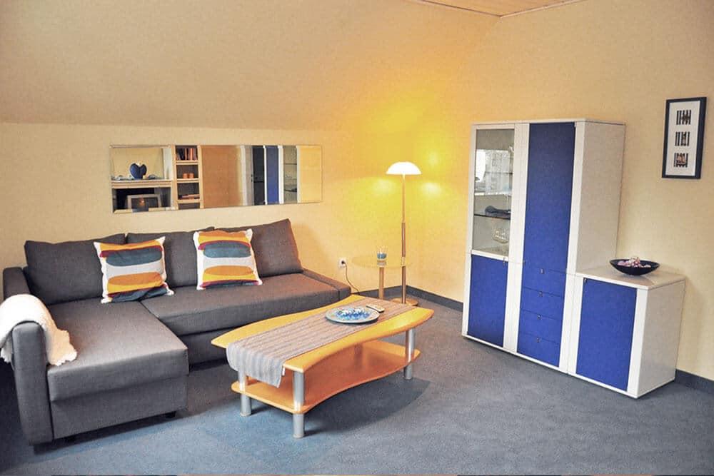 Familien-Appartement Wohnzimmer 1 - Hotel Bavaria Oldenburg