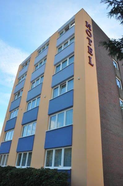Hoteltrack Aussenansicht - Hotel Bavaria Oldenburg