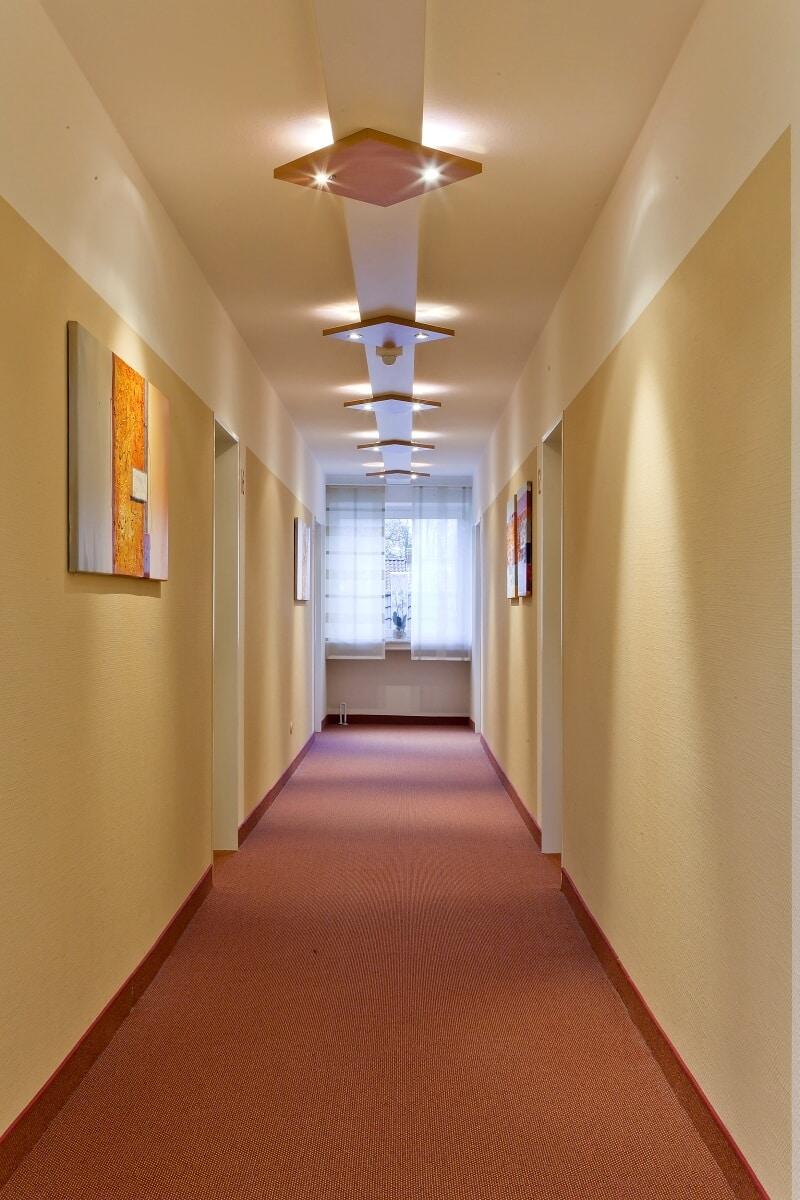 Etagenflur, Hotel Bavaria Oldenburg