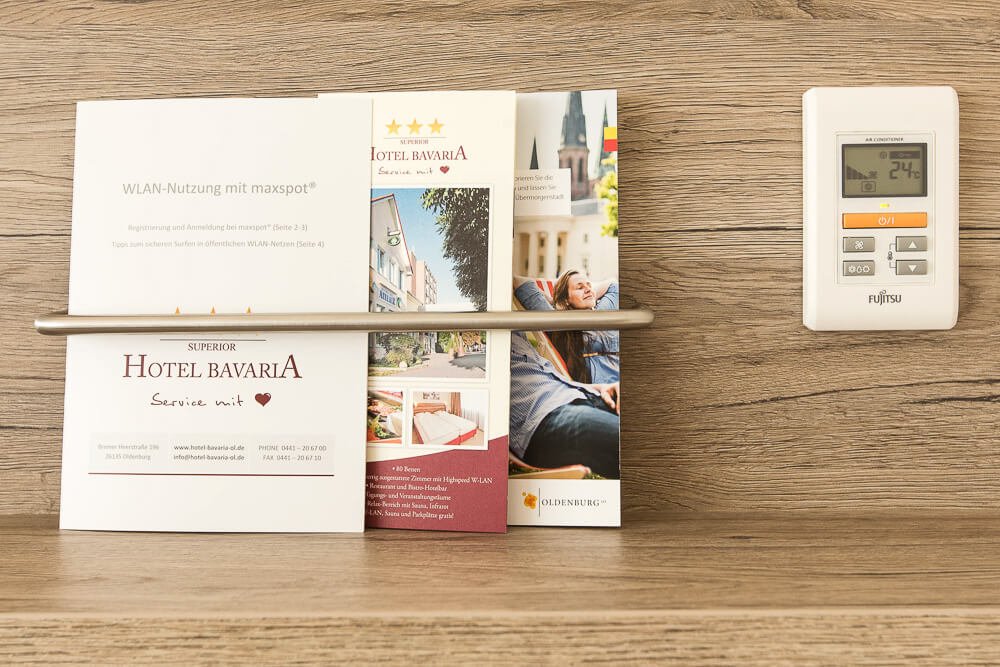 Premium-Zimmer, Flyer, Hotel Bavaria Oldenburg