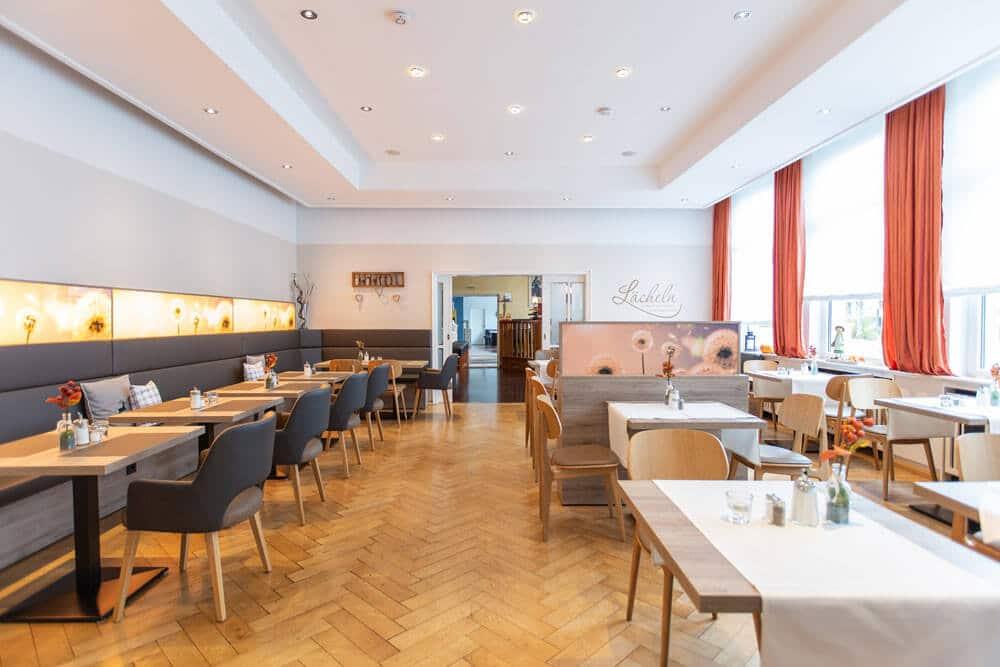 Frühstücksraum, Hotel Bavaria Oldenburg