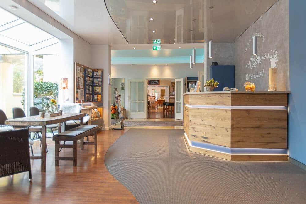 Lobby, Gesamtansicht 1, Hotel Bavaria Oldenburg