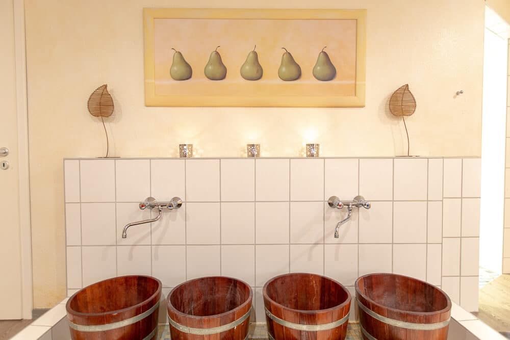 Sauna & Relax, Fussbad, Hotel Bavaria Oldenburg