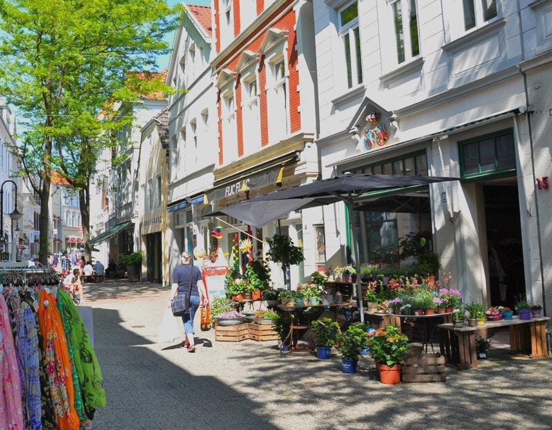 Innenstadt, Fussgängerzone, Hotel Bavaria Oldenburg