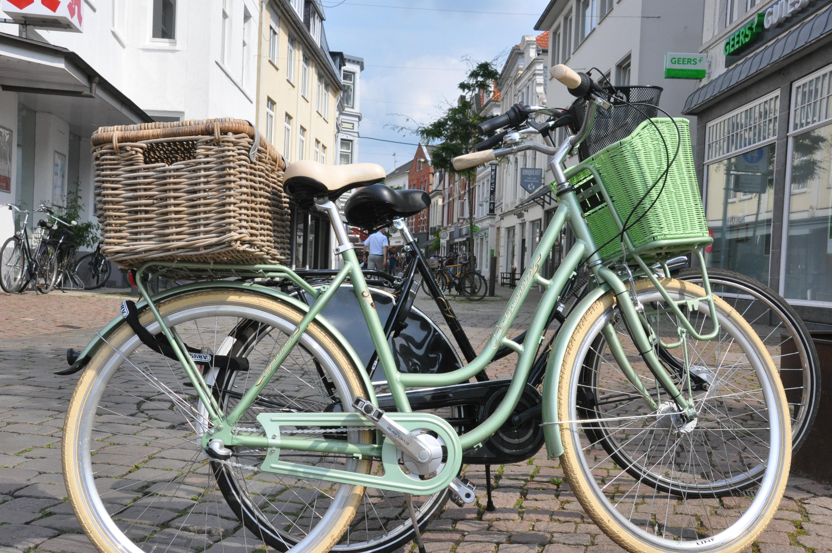 Fahrrad Fußgängerzone Oldenburg
