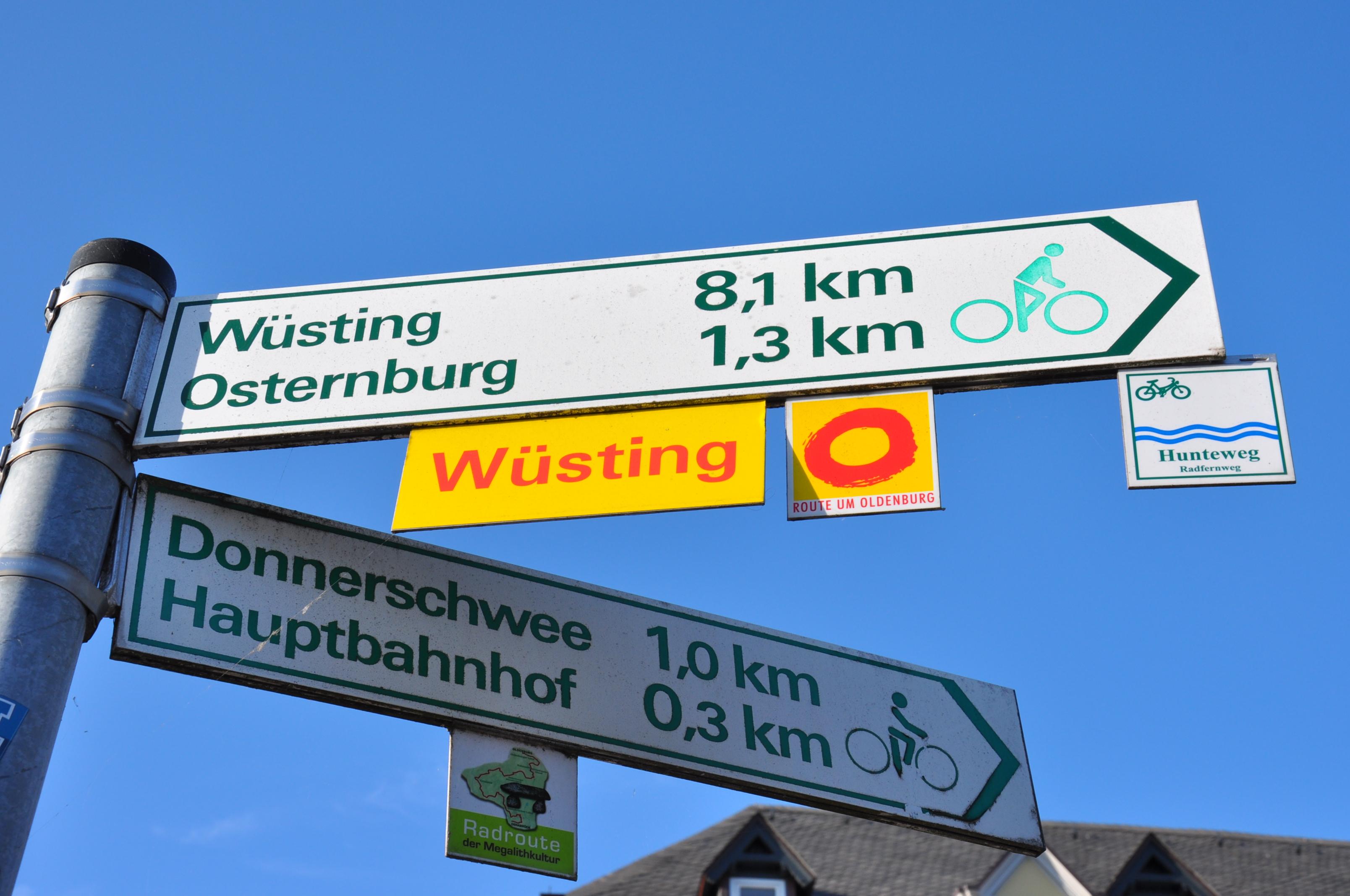 wegweise-radfahren-oldenburg Oldenburg
