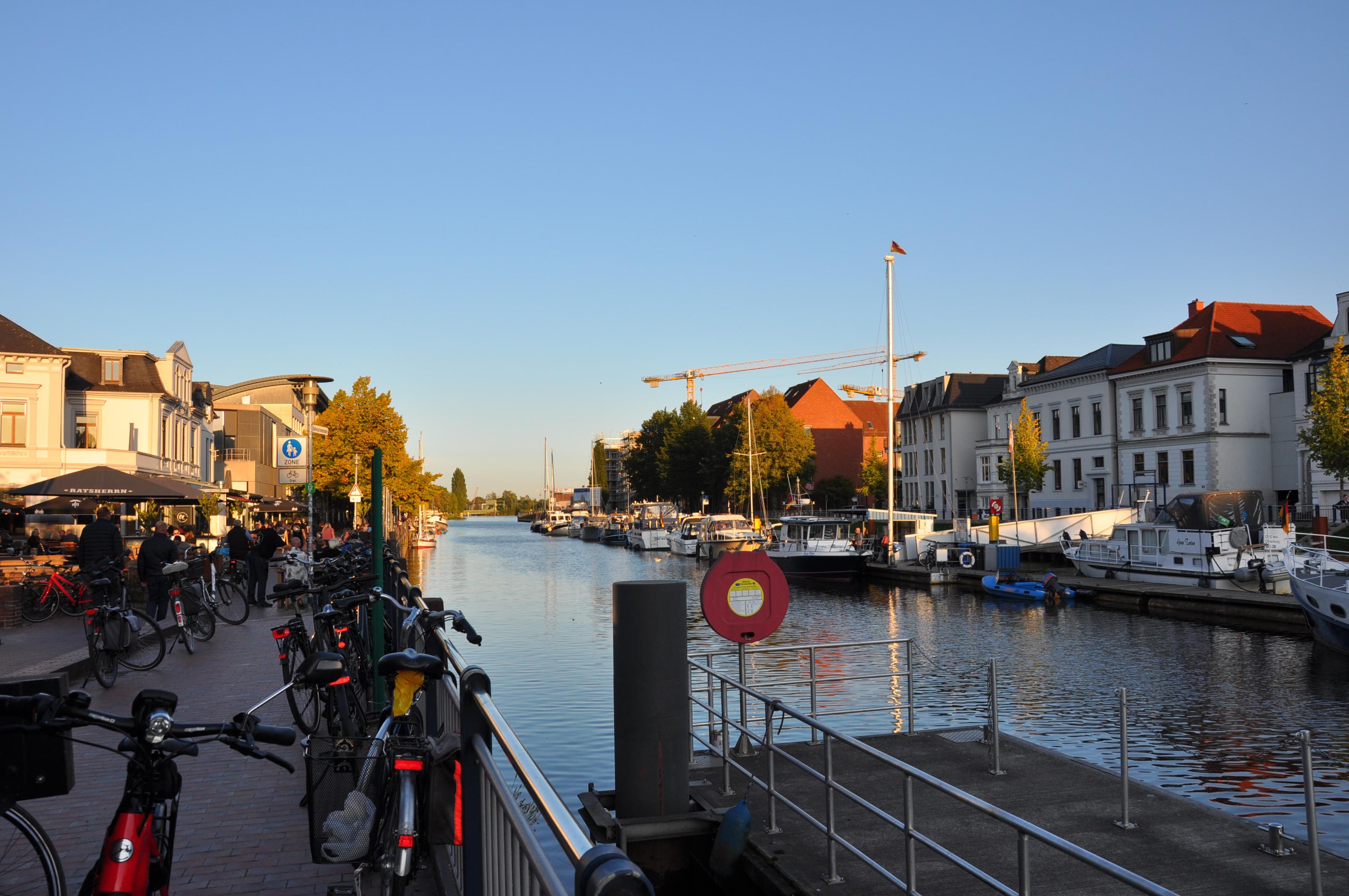 Hafen Oldenburg am Stau